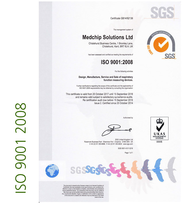 ISO 9001 2008 Page 1